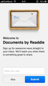 【iPhone】【ファイル管理の決定版】Documents by Readdle の使い方 – その2
