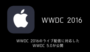 【iPhone】WWDC 2016を基調としたレトロでお洒落な壁紙