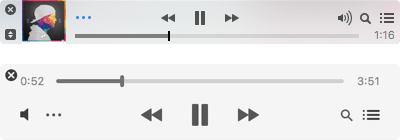 上:iTunes ver.12.5.5.5 下:iTunes ver.12.6.0.100