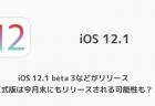 【iPhone】iOS12で設定の赤丸バッジが消えない時の対処方法