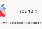 【iPhone】iOS 12.1.1 beta 1などがリリース FaceTime Live Photosの復活など