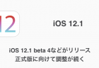 【iPhone】iOS 12.1 beta 4などがリリース 正式版に向けて調整が続く
