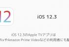 【iPhone】iOS 12.3のApple TVアプリで「ビデオが消えた」「動画が連結された」などの不具合