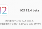 【iPhone】開発者向けにiOS 12.4 beta 2、ベータ参加者向けにiOS 12.4 Public beta 2がリリース
