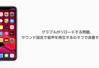 【iPhone】グラブルがリロードする問題、サウンド設定で音声を再生するのオフで改善する事例も