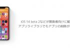 【iPhone】iOS 14 beta 2などが開発者向けに配信、アプリライブラリでもアプリの削除が容易に