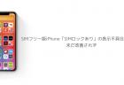 【iOS14.1】SIMフリー版iPhone「SIMロックあり」の表示不具合が報告、未だ改善されず
