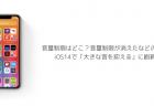 【iOS14】音量制限はどこ?音量制限が消えたなどの声、iOS14で「大きな音を抑える」に刷新