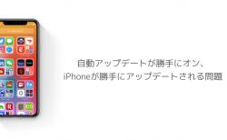 【iOS14】自動アップデートが勝手にオン、iPhoneが勝手にアップデートされる問題