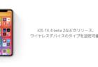 【iPhone】iOS 14.4 beta 2などがリリース、ワイヤレスデバイスのタイプを設定可能に